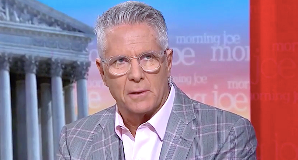 'This is the president of betrayal': MSNBC's Donny Deutsch explains how Democrats can use impeachment to defeat Trump in 2020