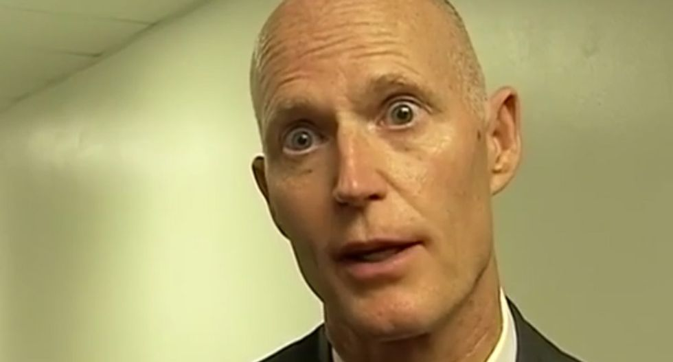 Rick Scott insists political ad attacking critical Florida citizen is just 'setting the record straight'