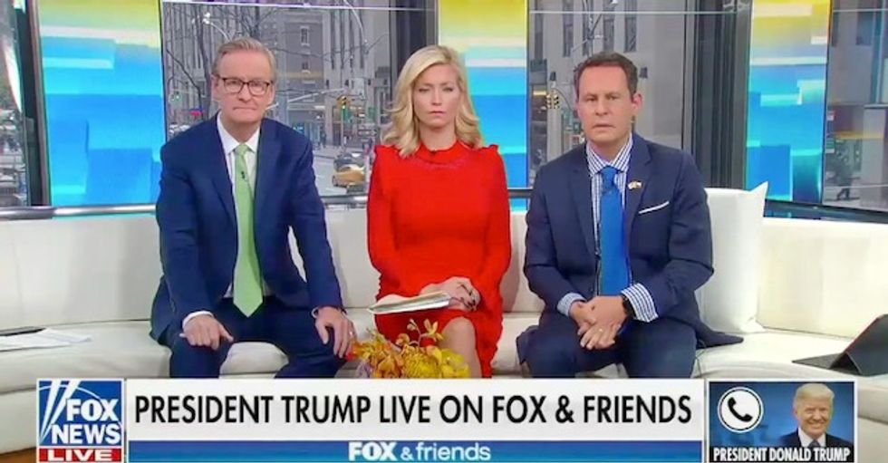 Spewing conspiracy theories and rambling and ranting: Trump goes off the rails in Fox News interview