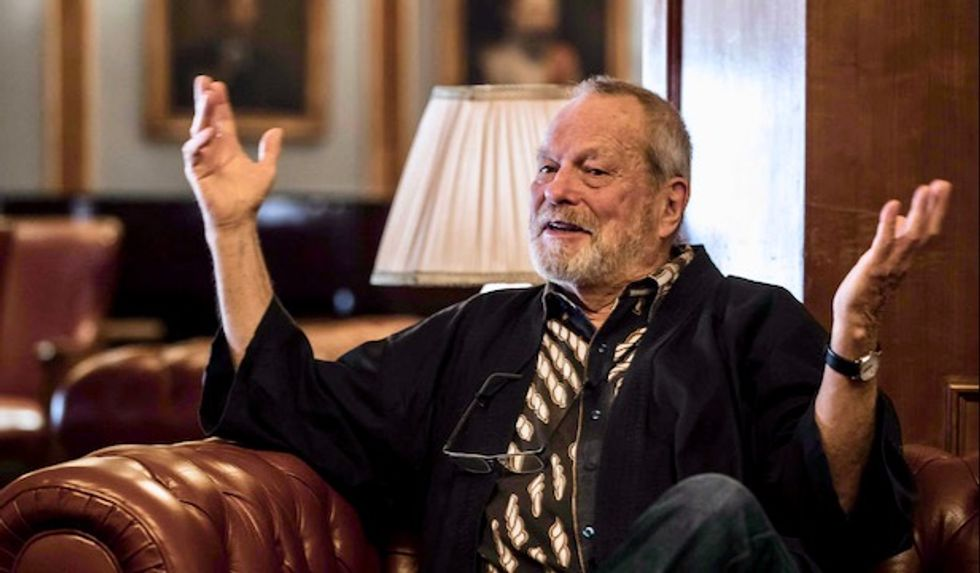 Monty Python's Terry Gilliam outraged by climate change, Hollywood PC culture