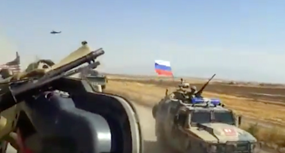 US troops injured during altercation with Russian forces in Syria -- and it was caught on video