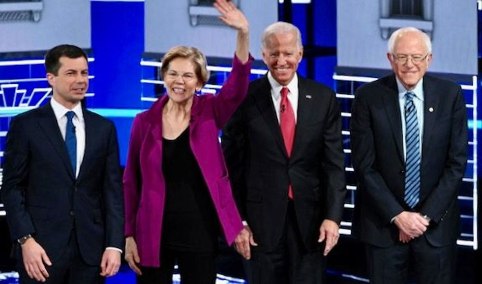 All Democrats except Biden declare 'victory' in Iowa -- here's why they're definitely wrong about that