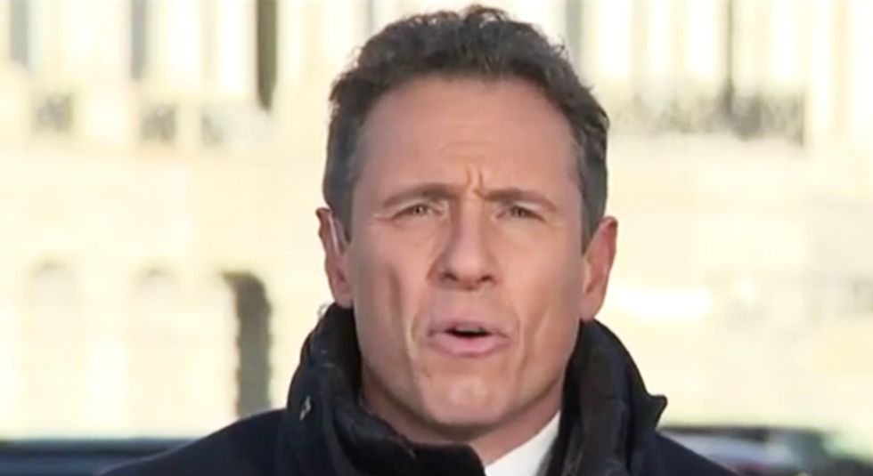 CNN's Cuomo calls the GOP a 'national security threat' for still pushing Trump's 'ignorant' Ukraine conspiracies
