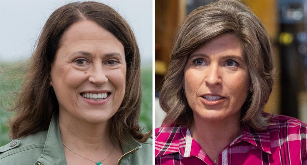 Democrat Teresa Greenfield leads GOP Sen. Joni Ernst in 'Gold Standard' poll of Iowa