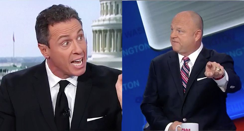 CNN's Chris Cuomo flattens Trump apologist David Urban for still spreading debunked Politico report lies