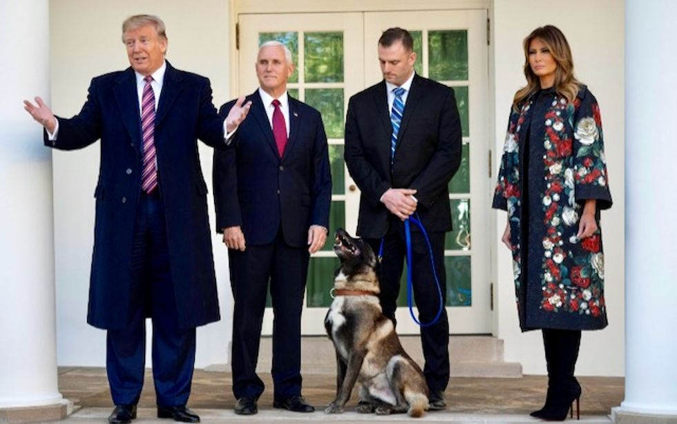 Trump mocked for hating animals after Biden twists ankle playing with his dog