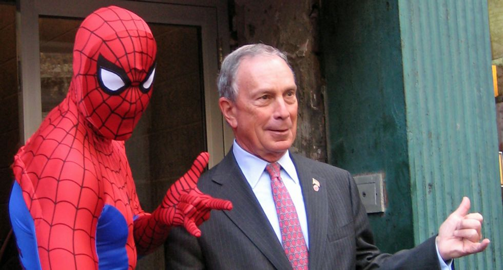 Why did Mike Bloomberg's campaign just tweet the mayor as a meatball? The internet is seriously confounded