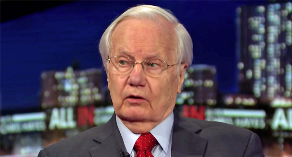 Bill Moyers: Nixon 'never admitted his crimes' — while 'Trump announced his in public'