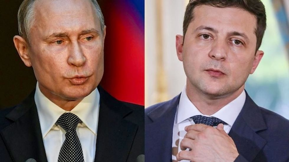 American influence could take the hit as Putin and Zelensky try to make peace in Donbass