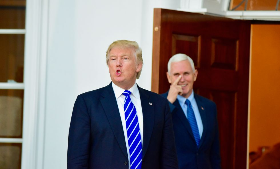 Mike Pence praised by evangelical conservative for being 'like a very supportive, submissive wife to Trump'