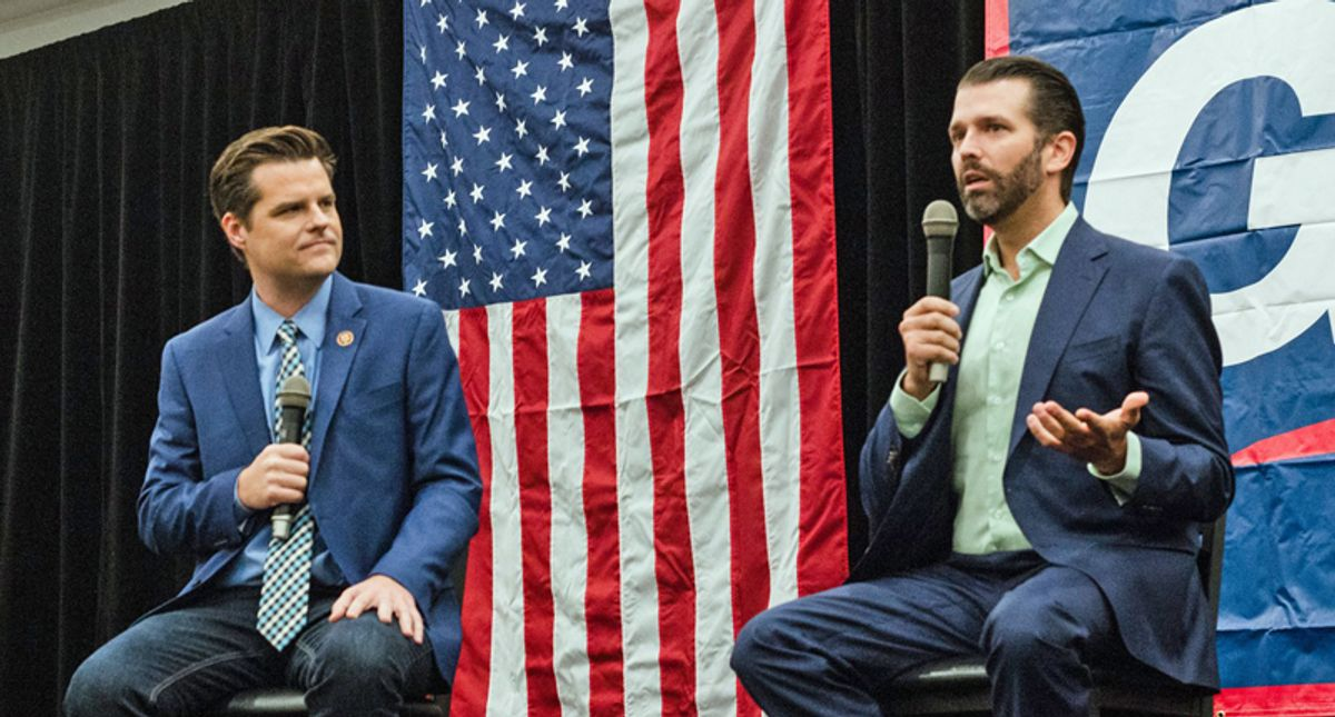 GOP sources dish dirt on Matt Gaetz: 'Even the Republican Party doesn't like him very much'