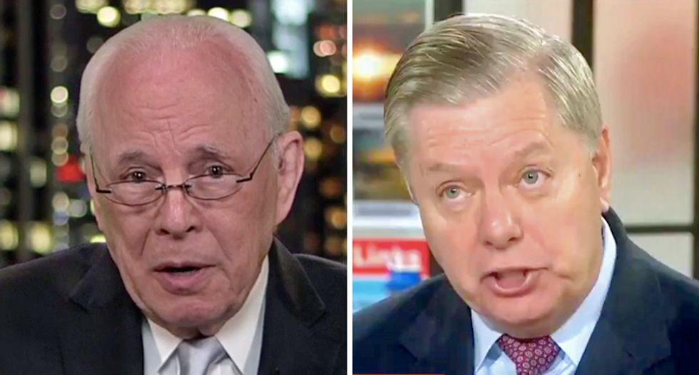 John Dean thinks Sen Graham's impeachment trick will fail: 'I don't think Lindsey has the chops'
