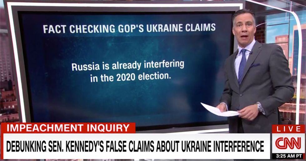 CNN's Jim Sciutto obliterates the Russian talking points parroted by the GOP with a brutal fact-check