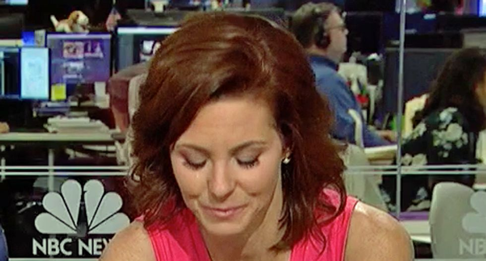 WATCH: A speechless Stephanie Ruhle chokes up on air reporting on murdered journalists