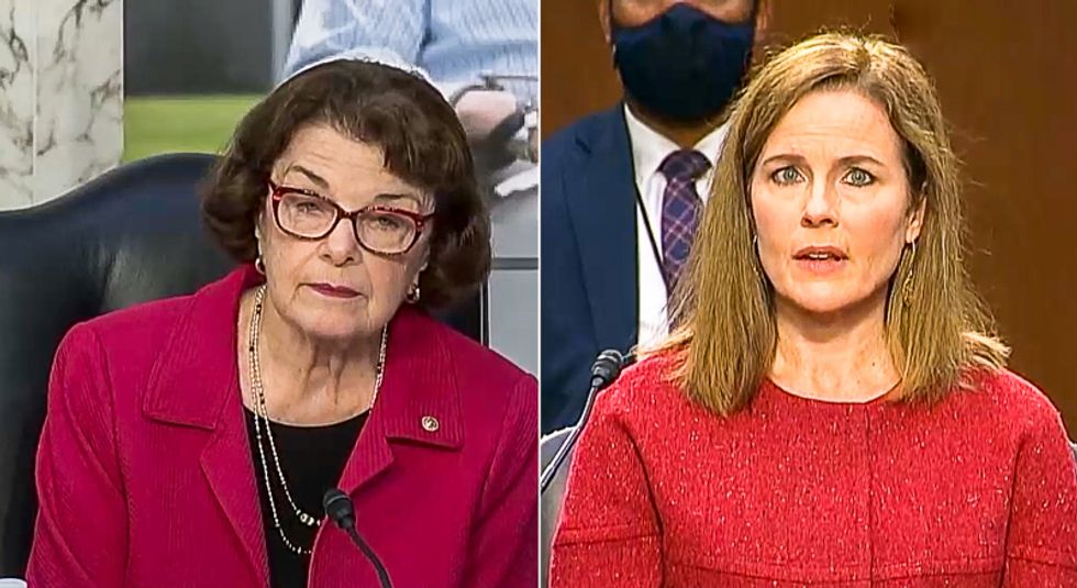 Amy Coney Barrett says she will keep 'open mind' about Trump unilaterally delaying election