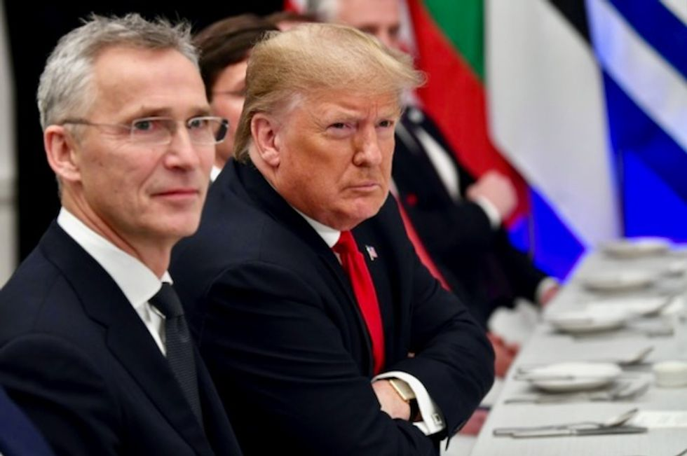 Trump disrupted NATO meeting to rage at Macron and Trudeau: report