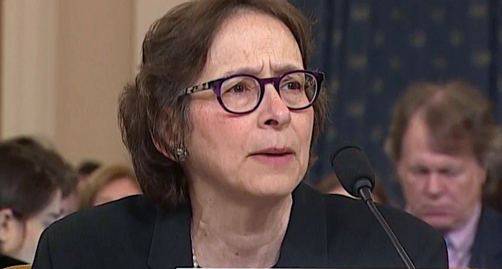 'Thank you professor': Pamela Karlan sets impeachment hearing on fire with blistering attack on Trump and GOP enablers