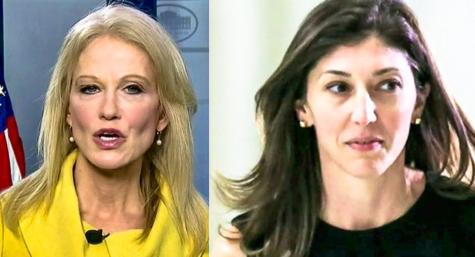 Kellyanne Conway slimes 'rattled' Lisa Page for speaking out: 'I'm not a woman who feels sorry for myself'