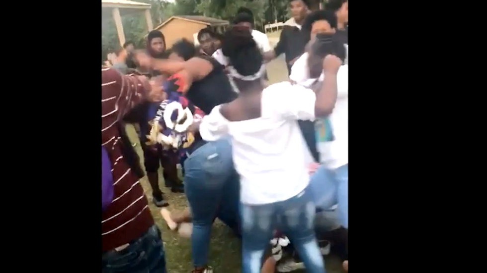 WATCH: Teenage 'mob fight' outside South Carolina church leads to the death of a 17-year old boy