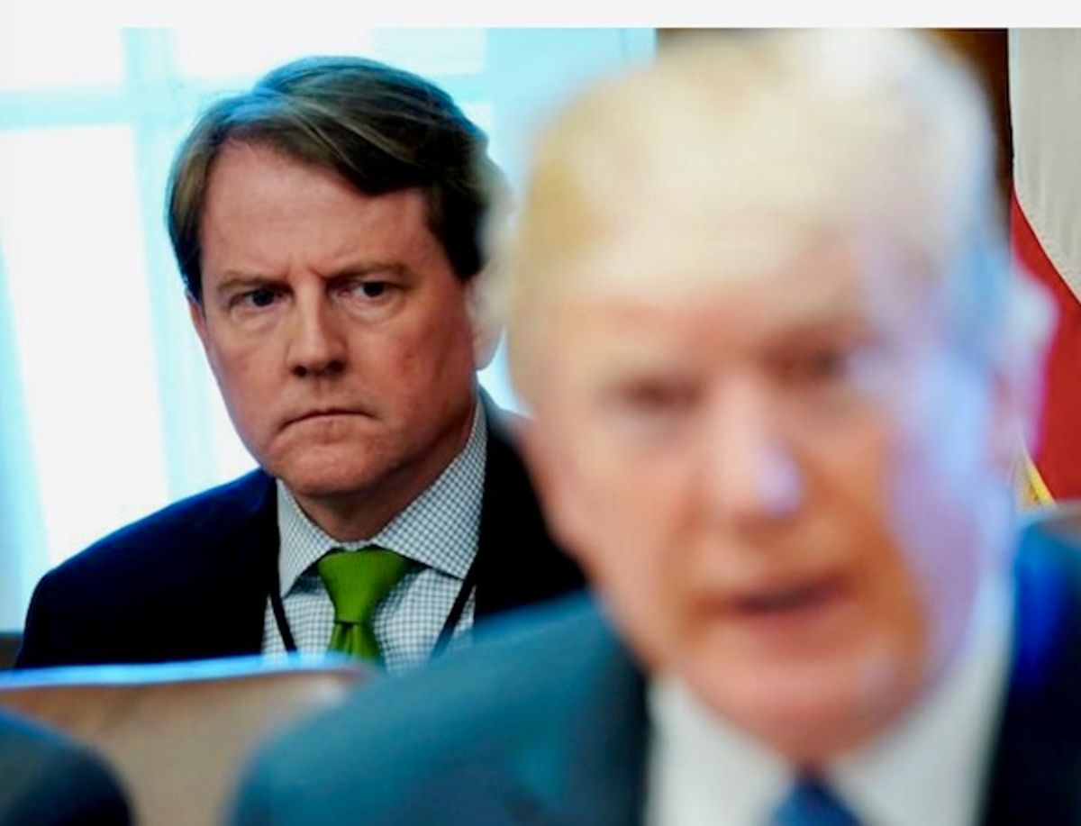 Legal experts explain why Don McGahn's impending testimony is 'important' — two years after Mueller's report