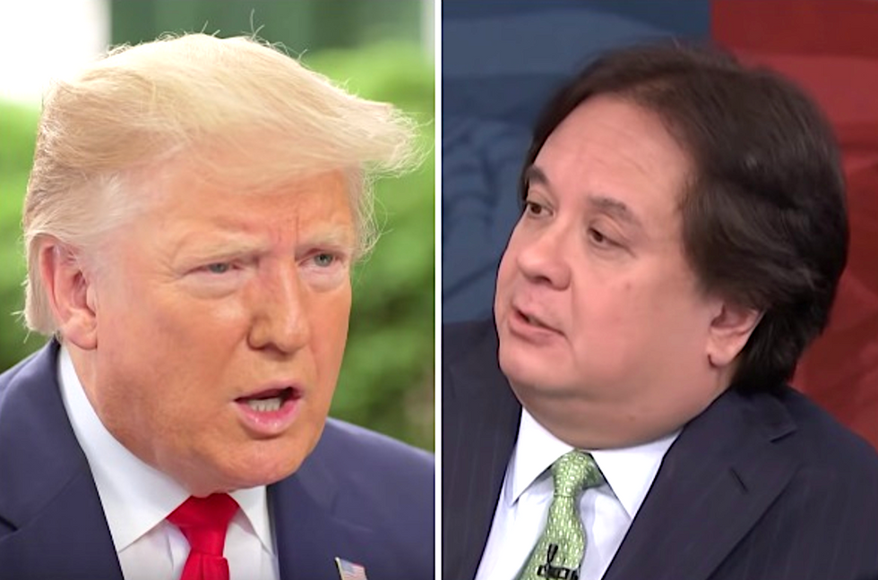 Trumpland's simmering anger at George Conway finally erupts into a bitter public feud
