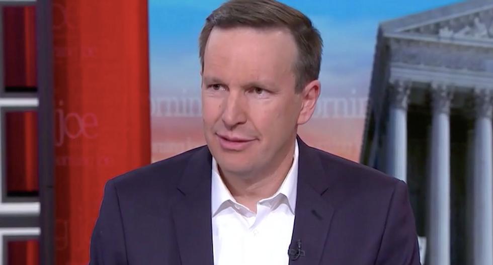 'Yes': Sen. Chris Murphy confirms at least five GOP senators would consider impeachment