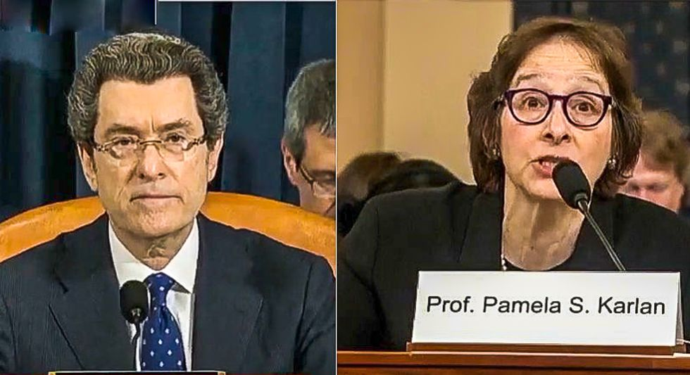 Witness Pamela Karlan to Congress: 'If you don't impeach... you are saying it's fine to do this again'