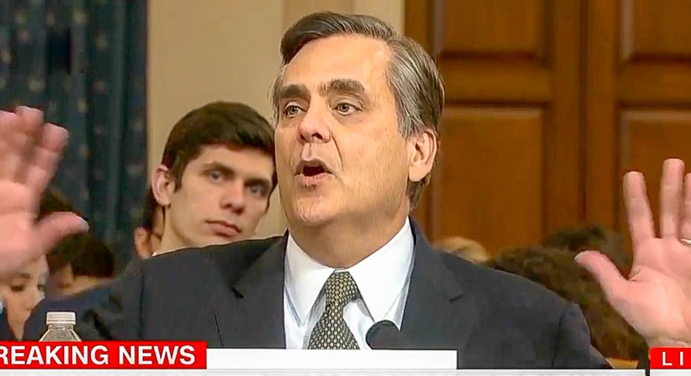 Jonathan Turley exculpates Trump: Bribery must include a thing of value -- like a 'French mistress'