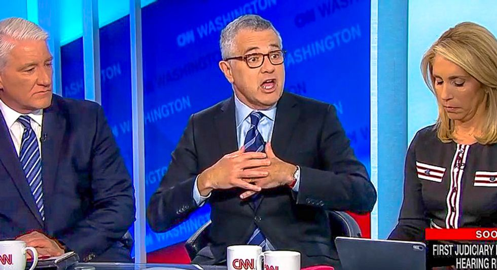 Jeffrey Toobin goes off on Jonathan Turley for 'extraordinary position' of ignoring Trump's obstruction