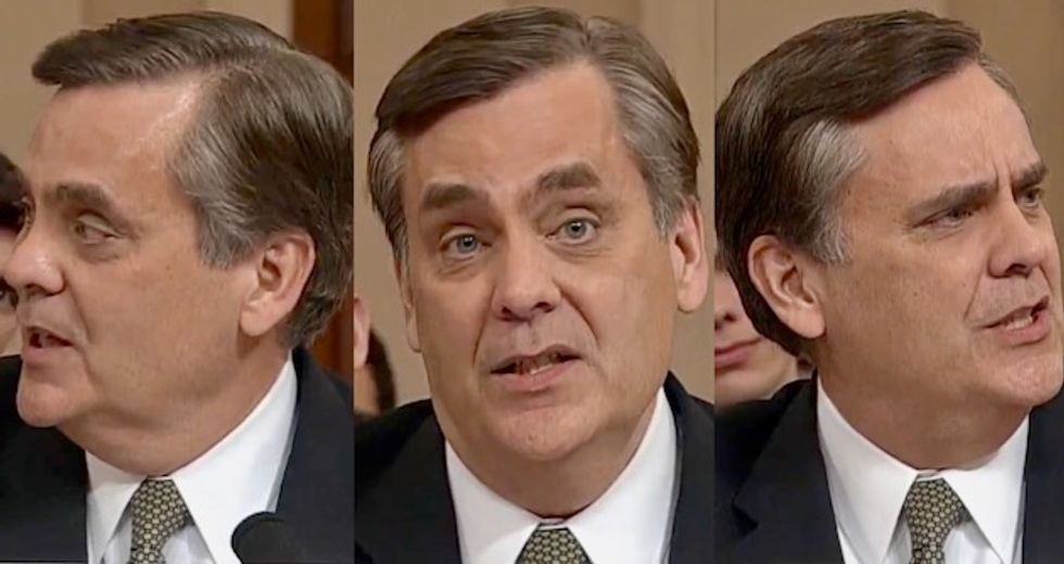 'Literally just making things up right now': Legal analyst destroys Turley's testimony against impeachment as 'nonsense'