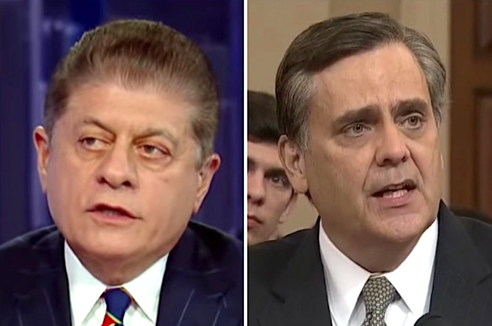 Jonathan Turley is wrong -- Trump committed a clear act of 'obstruction': Fox News legal analyst