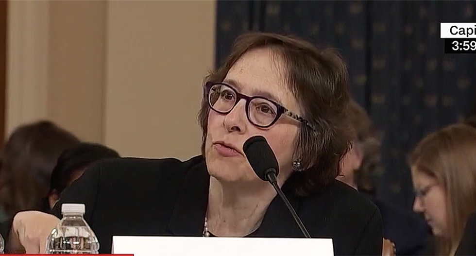 Trump campaign attacks Prof Pamela Karlan as 'unhinged' and a 'kook' for impeachment testimony
