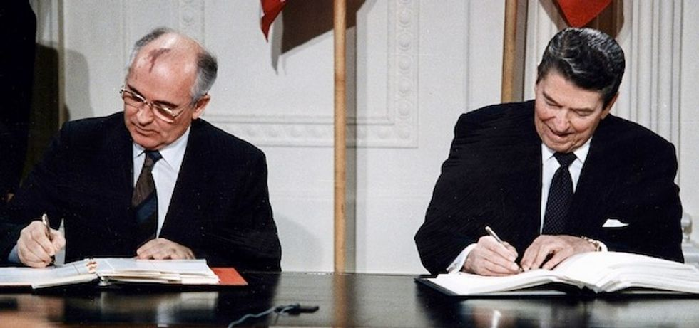 Fears of 'nuclear chaos and potential catastrophe' rise after US exits landmark Cold War-era treaty with Russia