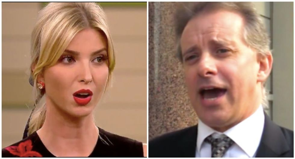 Ivanka Trump and dossier author Christopher Steele maintained a years-long correspondence
