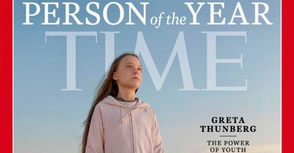 'Will surely trigger' the 'snowflake crowd': Internet celebrates climate activist Greta Thunberg as TIME's Person of the Year