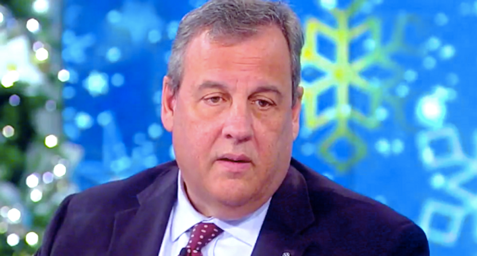 Chris Christie: President Trump's legal team is a 'national embarrassment'