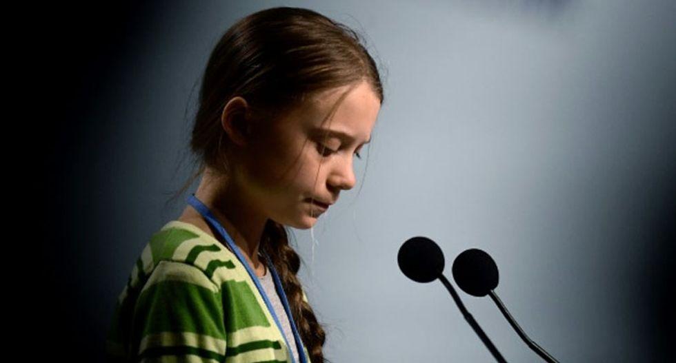 Greta Thunberg slams 'misleading' climate pledges at chaotic UN summit