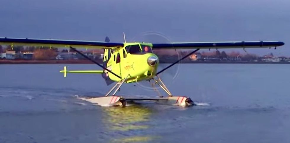 First all-electric commercial plane takes off – and shows the sky is the limit
