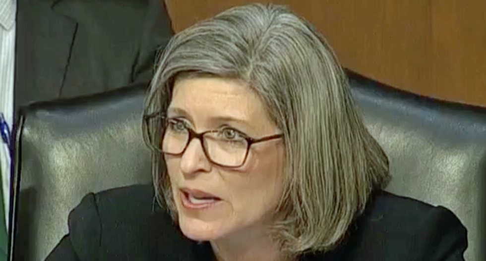 Embattled GOP Senator caught fundraising on the Supreme Court within minutes of RBG's death: report