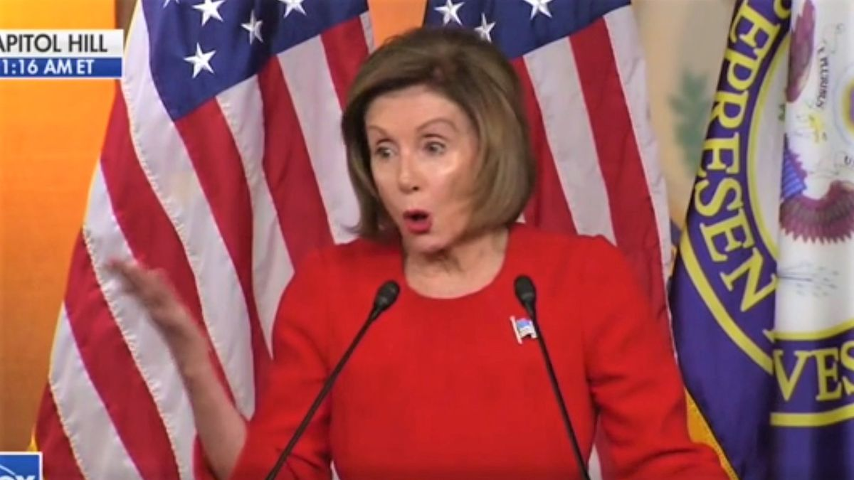 Pelosi rips 'reckless and dangerous' House GOP Whip for elevating COVID vaccine skeptic