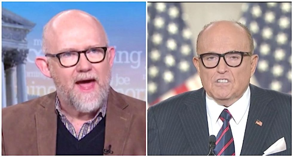 Rick Wilson trashes his former boss Rudy Giuliani's RNC speech: 'Everything but the N-word'