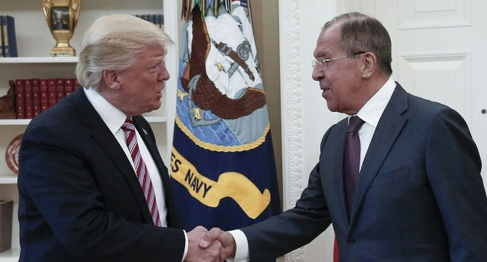 Russian foreign minster said he didn't discuss elections with Trump -- who said they discussed the 2016 election meddling