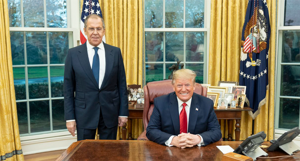 Sergey Lavrov trolled Trump on elections and disclosing classified info after Oval Office meeting