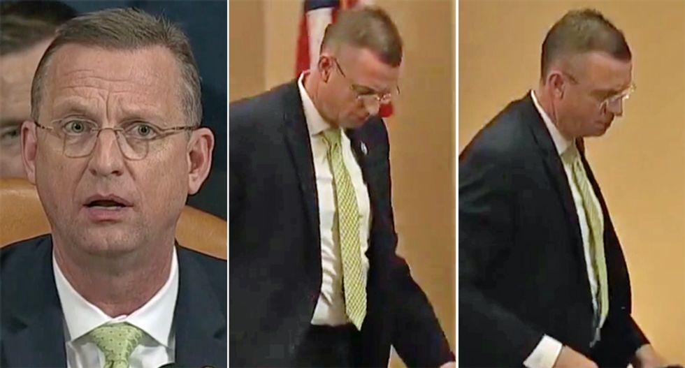 WATCH: Republican Doug Collins storms out of impeachment hearing after angry rant