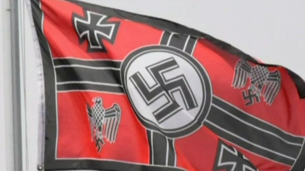 San Diego man goes crying to cops after his Nazi flag gets vandalized