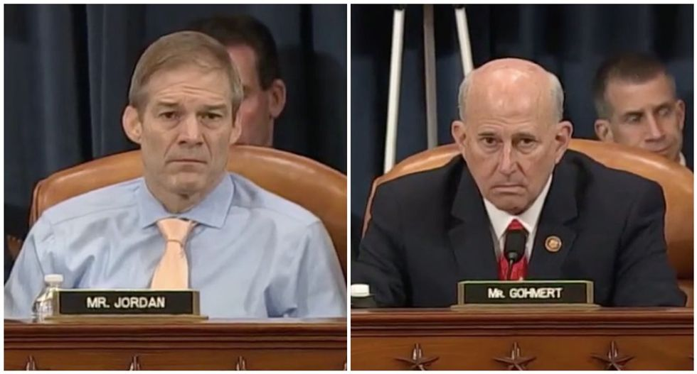 'Might be tears soon': Trump's GOP defenders mocked for sitting stunned as impeachment moves forward