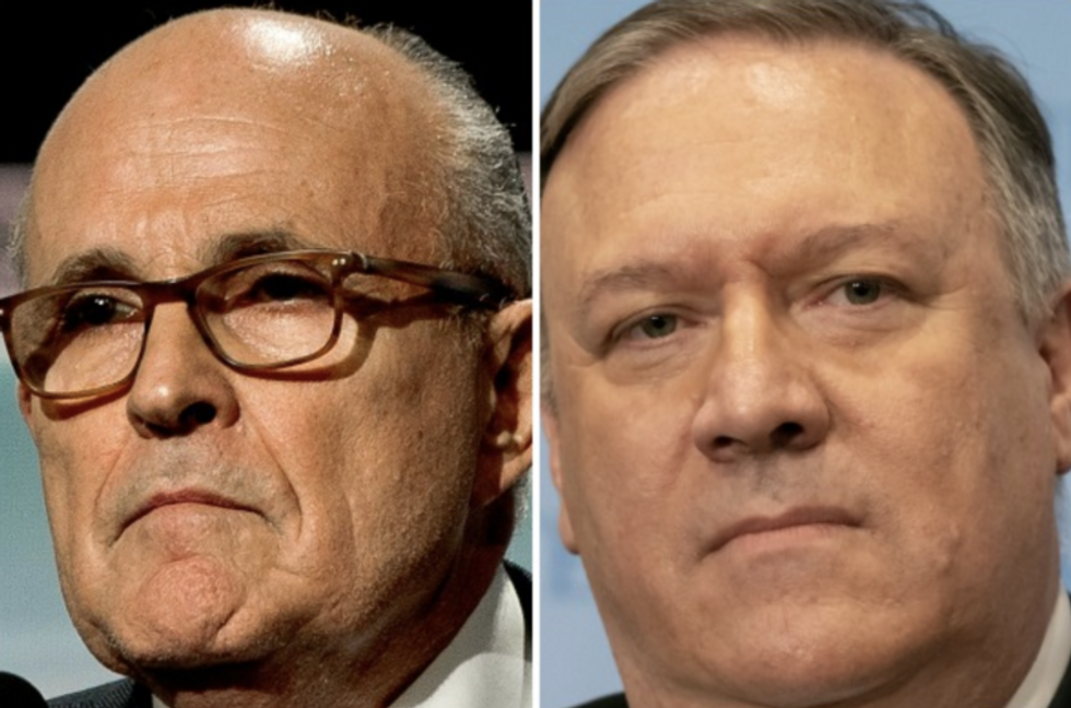 Judge orders State Department to expand search for records of Rudy Giuliani and Mike Pompeo communications