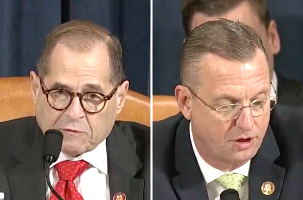 GOP ranking member blurts out a point of order less than 30 seconds into impeachment hearing