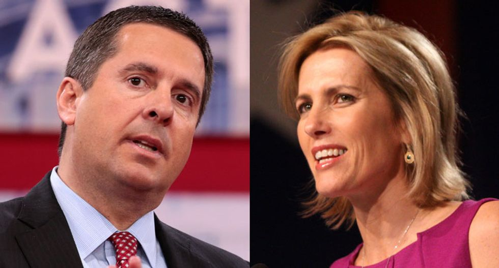 Fox's Ingraham attacks Greta Thunberg's selection as Time's Person of the Year: Nunes would be a better choice