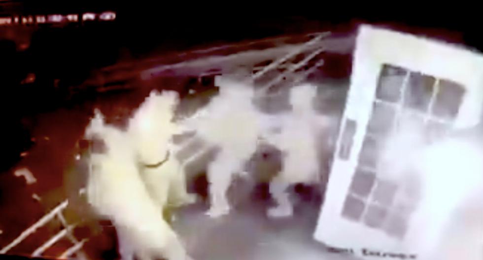 Shocking video shows mob of Indiana University frat boys attacking Jewish students